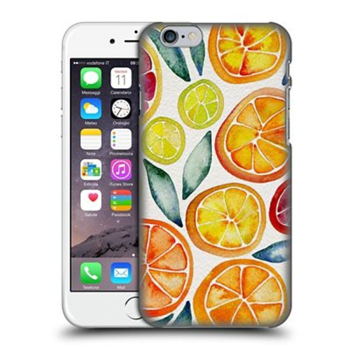 Official Cat Coquillette Fruits & Veggies Citrus Slices Hard Back Case For Apple Iphone 6 / 6S