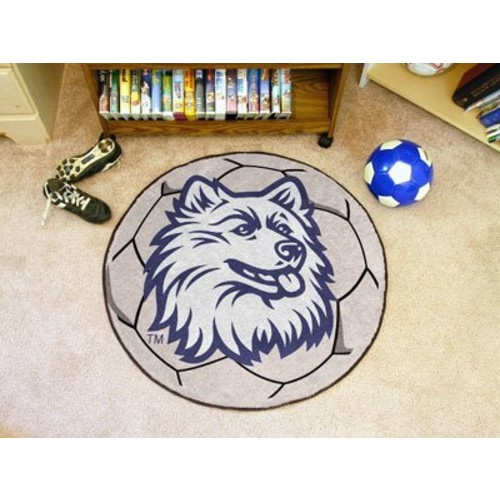 University of Connecticut Soccer Ball Rug