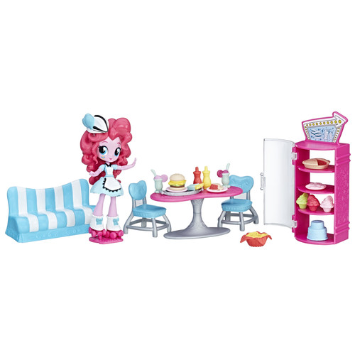 My Little Pony Equestria Girls Pinkie Pie Sweet Snacks Caf