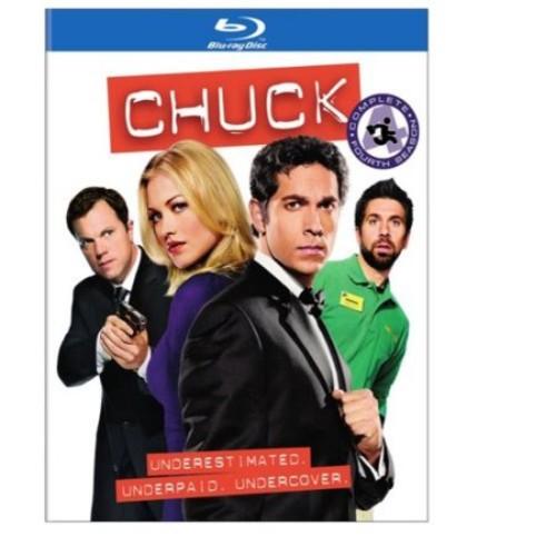 Chuck: The Complete Fourth Season [4 Discs] [Blu-ray]
