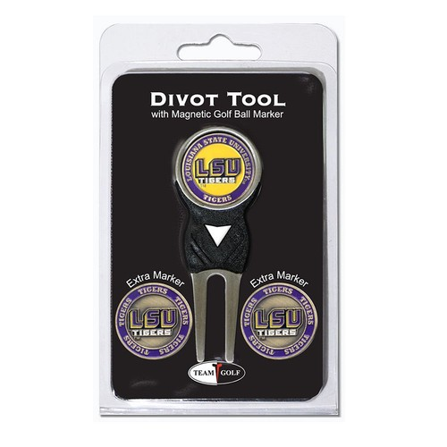 Team Golf LSU Tigers 4-pc. Divot Tool & Ball Marker Set