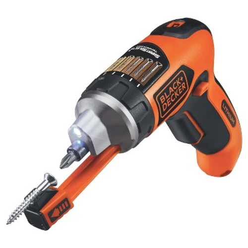 BLACK+DECKER Smart Select 4V Max Lithium Rechargeable Screwdriver