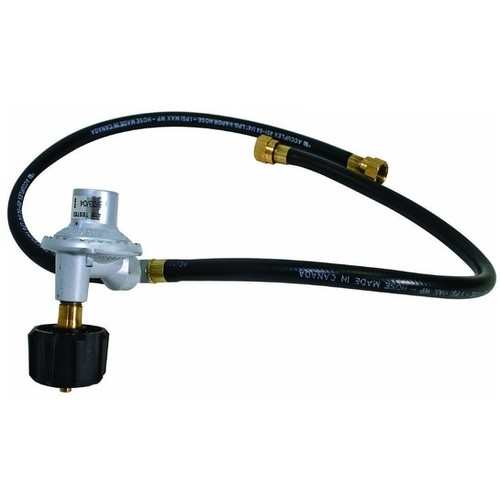 Grill Pro 80016 GrillPro 80012 Dual QCC1 Hose and Regulator, 24