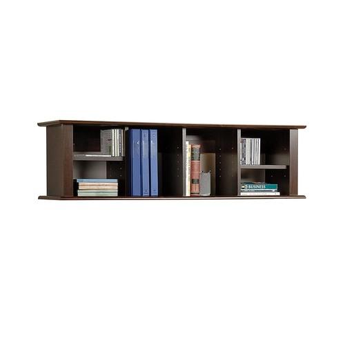 Espresso Wall Mounted Desk Hutch [Espresso]