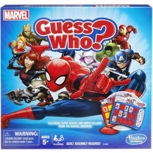 MARVEL SPIDERMAN GUESS WHO