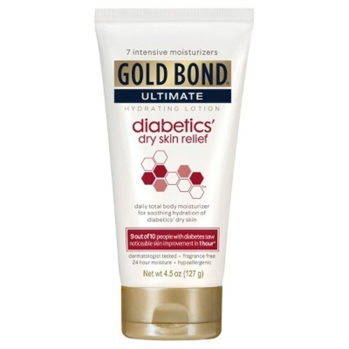 Gold Bond Ultimate Diabetics Dry Skin Relief Hydrating Lotion, 4.5 Oz