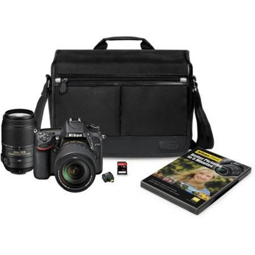 Nikon D7100 DSLR with 18-140mm and 55-300mm VR Lenses 13293