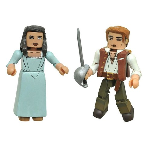 Disney Pirates of the Caribbean Dead Men Tell No Tales 2 Pack 2 inch Minimates Action Figure - Henry and Carina