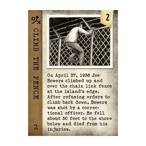 Escape From Alcatraz Card Game