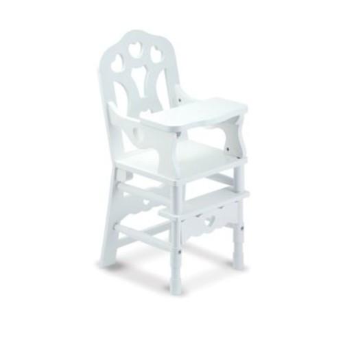 Melissa & Doug - Wooden Doll High Chair