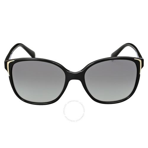 Grey Gradient Cat Eye Sunglasses
