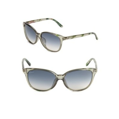Gucci - 57MM Gradient Cat's Eye Sunglasses
