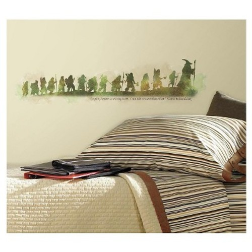 RoomMates The Hobbit Quote Peel & Stick Wall Decals