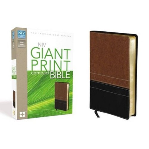 Compact Bible-NIV-Giant Print (Other)(Large Print)