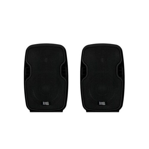 Acoustic Audio AA85UB Active 1200 Watts Bluetooth Battery Powered Rechargeable Speaker Pair 2 Way