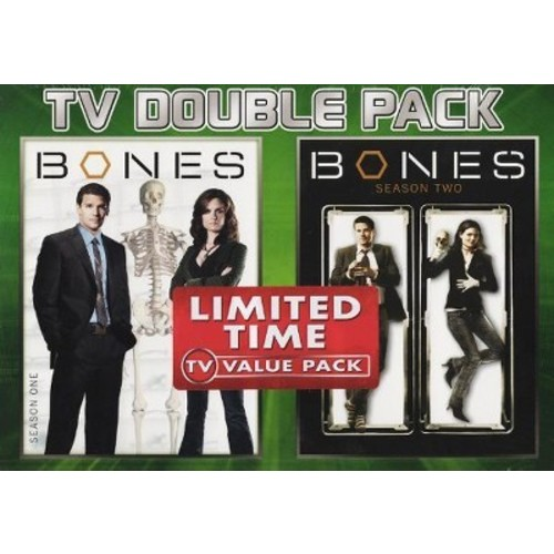 Bones Season 1+2 (DVD)