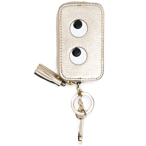 ANYA HINDMARCH 'Eyes' Coin Purse Keyring