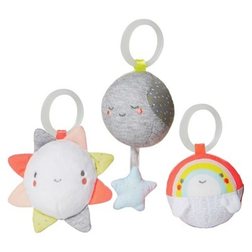 Skip Hop Silver Lining Cloud Balls Baby Toy - 3pc