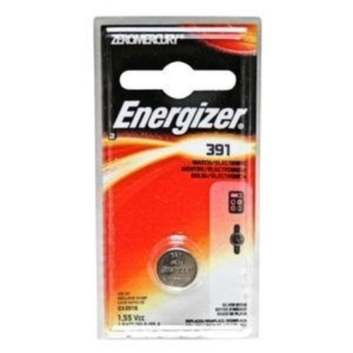 Energizer 391BPZ Zero Mercury Battery - 1 Pack
