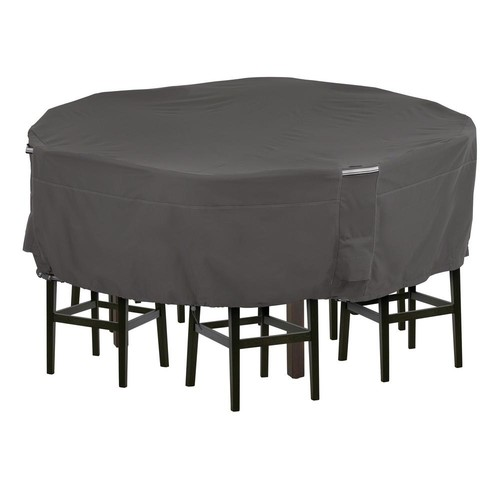 Classic Accessories Ravenna Tall Medium Patio Table and Chair Set Cover