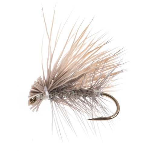 Dream Cast Pearl Elk Caddis Dry Fly - Dozen