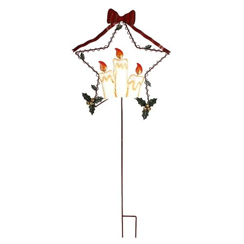 Attraction Design Home Holiday Flames Garden Stake