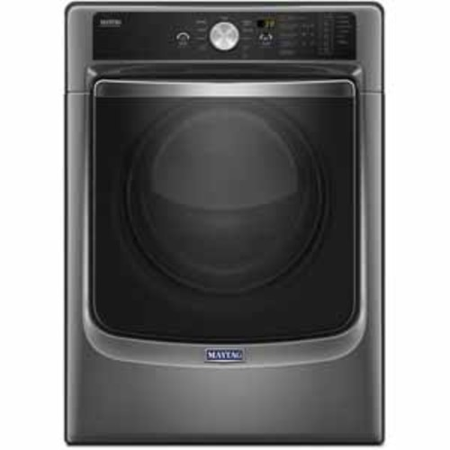 Maytag 7.4 cu. ft. Large Capacity Dryer with Refresh Cycle with Steam and PowerDry System - Metallic Slate