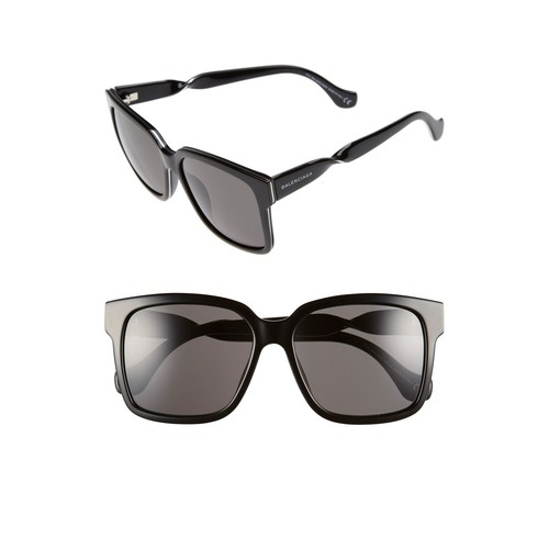 BALENCIAGA Paris 'Ba0053' 55Mm Cat Eye Sunglasses