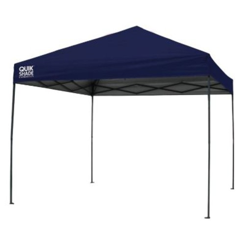 Quik Shade Expedition 100 Team Colors 10 ft. x 10 ft. Navy Instant Canopy