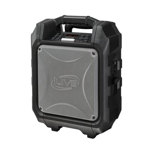 iLive - Portable Bluetooth Speaker - Black