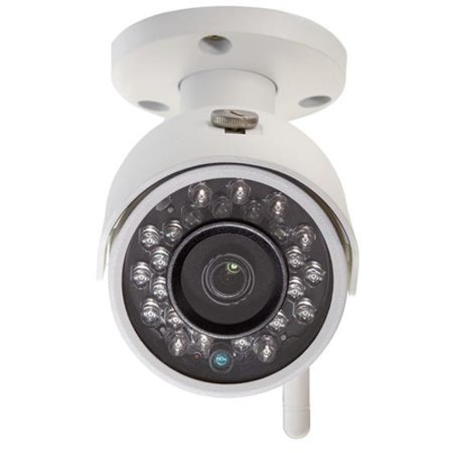 Q-See Indoor/Outdoor 3MP Wi-Fi Security Bullet Camera, White