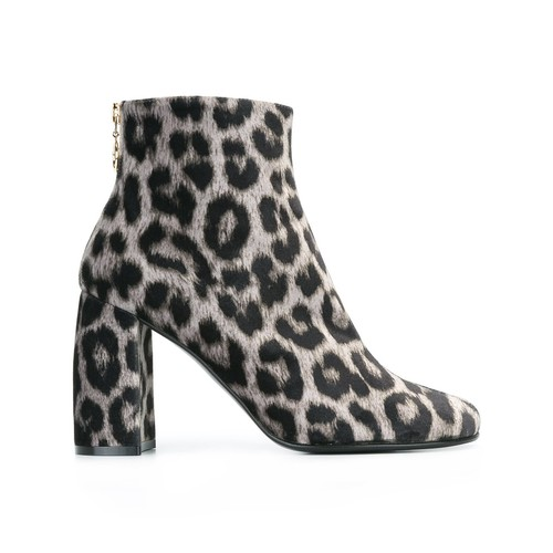 STELLA MCCARTNEY Leopard Print Ankle Boots