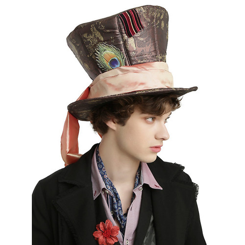 Disney Alice Through The Looking Glass Mad Hatter Cosplay Hat