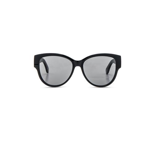 SAINT LAURENT Sl M3 Sunglasses In Black & Grey