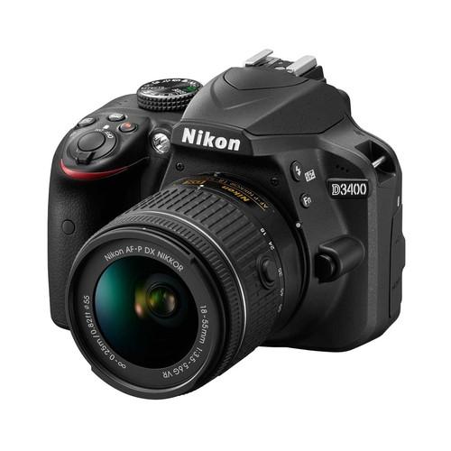 Nikon 1571 24.2MP DSLR Camera with Nikkor 18-55mm VR DX AF-P Zoom Lens