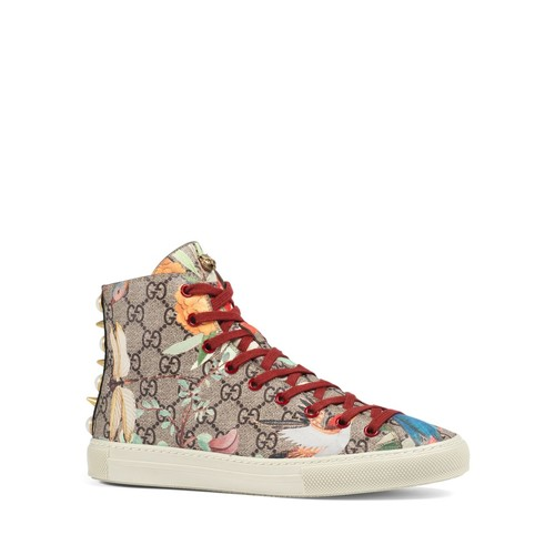 GUCCI Women'S Major High Top Lace Up Sneakers
