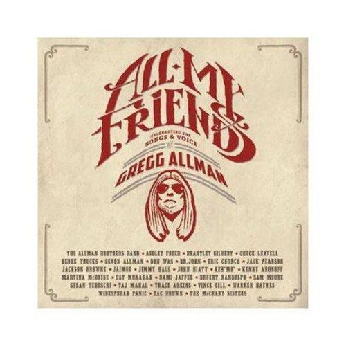 ALLMAN G-ALL MY FRIENDS-CELEBRATING THE SONGS & VOICE OF GREGG ALLMAN(BLU R (Blu-ray)