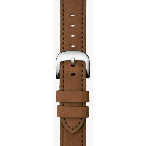 20mm Oatmeal Leather Strap