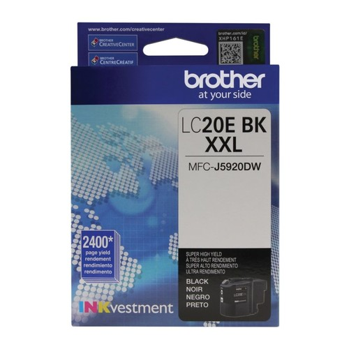 Brother LC20EBKS Extra-High Yield Environmental Program Black Ink Cartridge