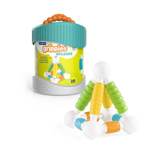 Guidecraft Grippies(TM) Better Builders 20 Piece Building Toy