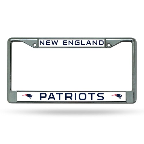 NFL Chrome Plate Frame [New England Patriots]