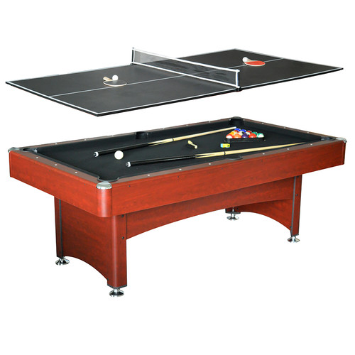 Hathaway Bristol 7-ft Pool Table w/ Table Tennis Top