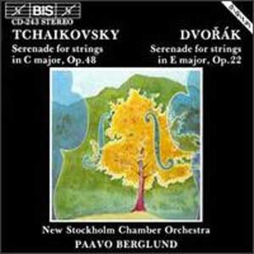 Tchaikovsky: Serenade for Strings Op. 48; Dvork: Serenade for Strings Op. 22 By Paavo Berglund (Audio CD)