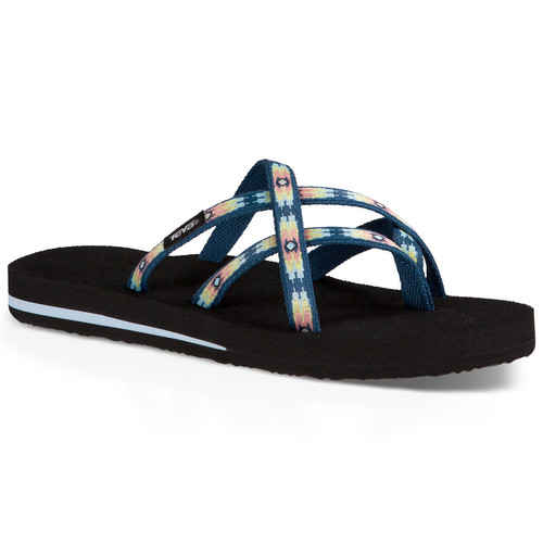 TEVA Womens Olowahu Sandals, Pana Stellar
