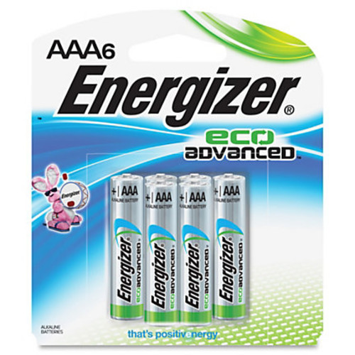 Energizer EcoAdvanced AAA Batteries - AAA - Alkaline - 144 / Carton