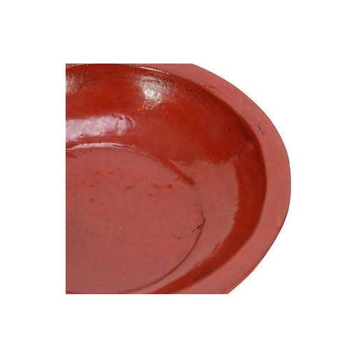 Tibetan Red Bowl