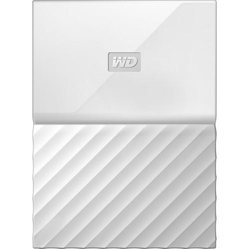 WD - My Passport 3TB External USB 3.0 Portable Hard Drive - White
