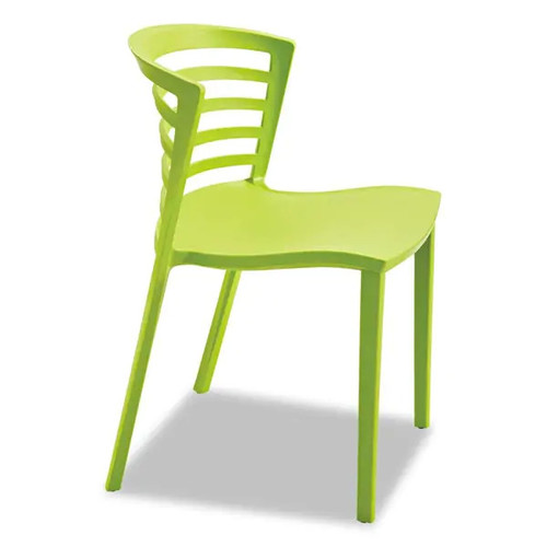 Safco Entourage Stack Chair Grass 4 per Carton - Grass