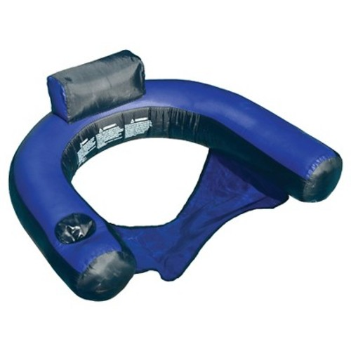 Fabric Covered U-Seat Pool Inflatable