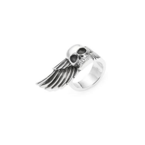 King Baby Studio - Skull & Wing Sterling Silver Ring